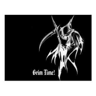 Grim Time! - Postcard