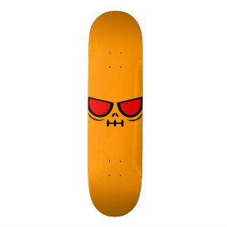 GrimFace™ Cheddar Orange Skateboard Deck