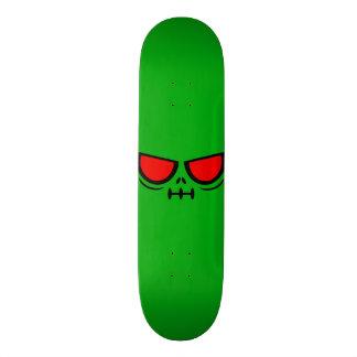 GrimFace™ Grassy Green Skateboard Deck