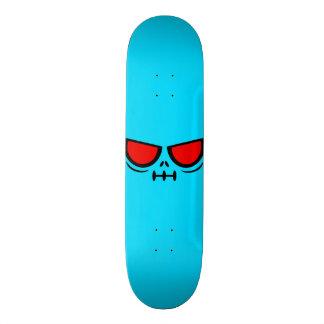 GrimFace™ Ice Blue Skateboard Deck