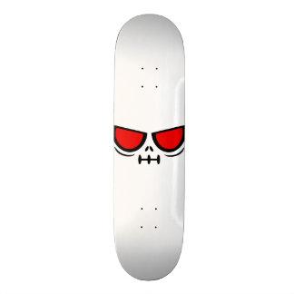 GrimFace™ Milky White Skateboard Deck