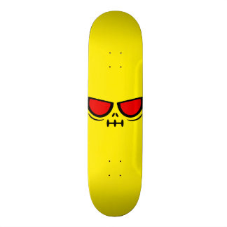 GrimFace™ Sunny Yellow Skateboard Deck