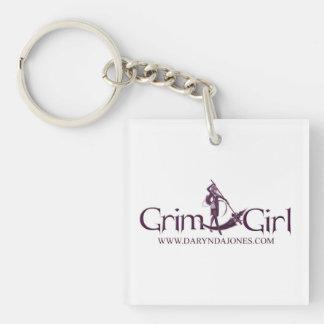 GrimGirl Keychain