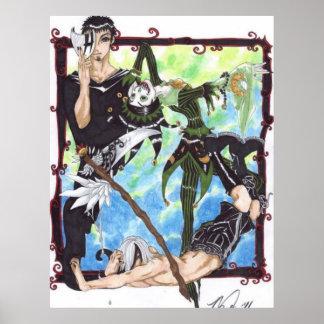 Grimm Reaper Joker Posters