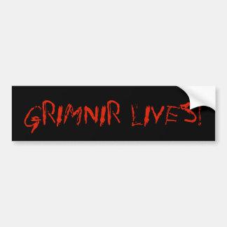 """""""Grimnir Lives!"""" Bumper sticker"""