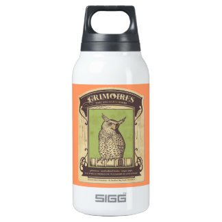 Grimoires Owl 10 Oz Insulated SIGG Thermos Water Bottle