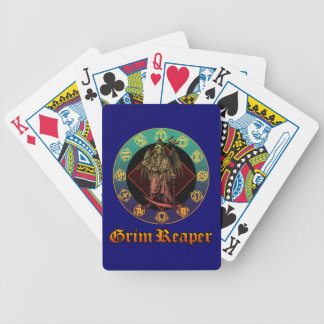 grimreaper and horoscope 2 bicycle poker deck
