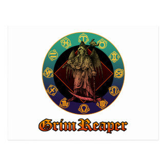 grimreaper and horoscope 2 post cards
