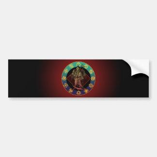 grimreaper and horoscope bumper sticker