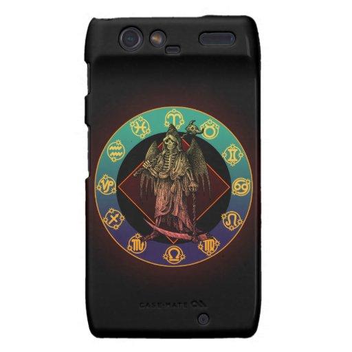 grimreaper and horoscope droid RAZR cases