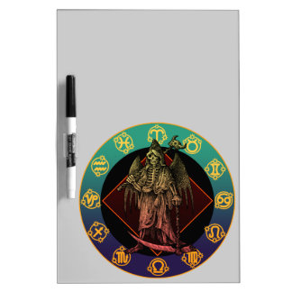 grimreaper and horoscope dry erase whiteboards