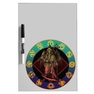 grimreaper and horoscope Dry-Erase board