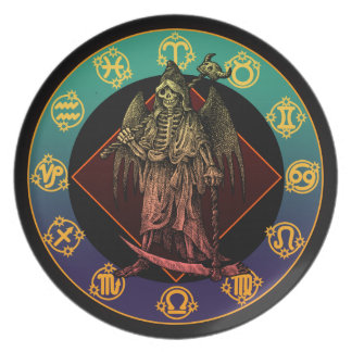 grimreaper and horoscope plates