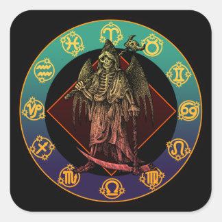 grimreaper and horoscope シール