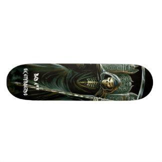 grimreaper, bad a** skat... 18.1 cm old school skateboard deck