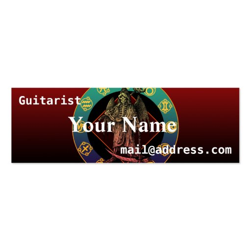 grimreaper business cards