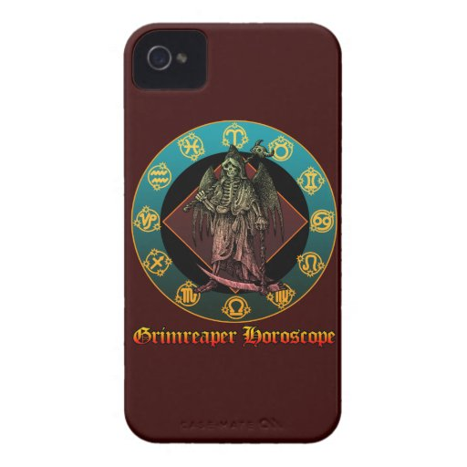 Grimreaper Blackberry Bold Cover