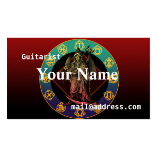 grimreaper pack of standard business cards