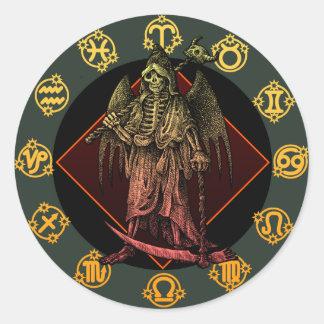 Grimreaper Round Sticker
