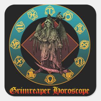 Grimreaper Square Sticker