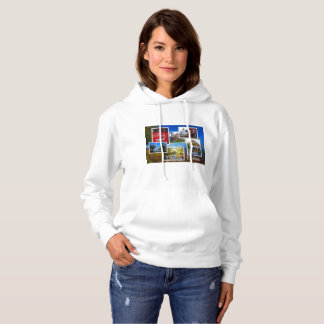 Grimsby Ontario Collage Hoodie