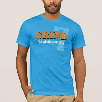 grind skateboard clothing sport logo T-Shirt