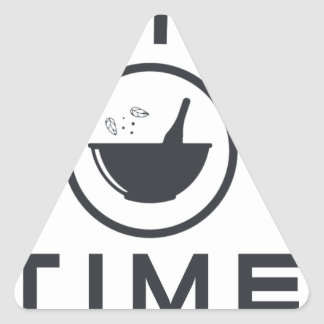 GRIND TIME TRIANGLE STICKER