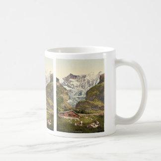 Grindelwald, chalet and Vischerhorn, Bernese Oberl Coffee Mug