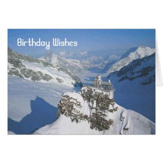 Grindelwald, Jungfraujoch Card
