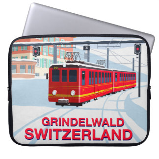 Grindelwald Ski LapTop Sleeve