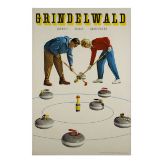 Grindelwald ,Switzerland, Travel Poster