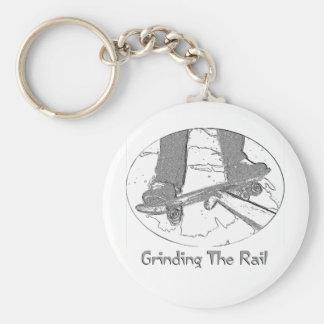 Grinding The Rail Key Ring
