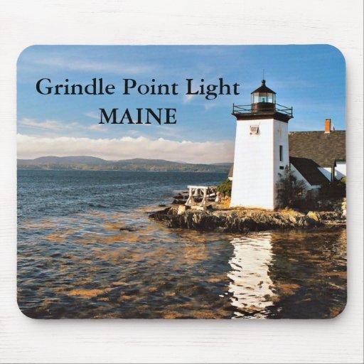 Grindle Point Light, Maine Mousepad