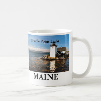 Grindle Point Light, Maine Mug
