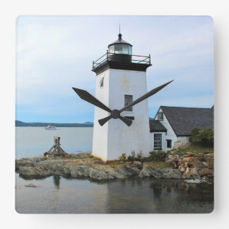 Grindle Point Lighthouse, Maine Wall Clock