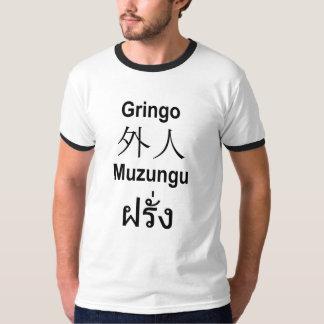 gringo gaijin muzungu farang T-Shirt