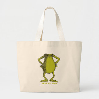 gringo with no head large tote bag