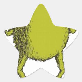 gringo with no head star sticker