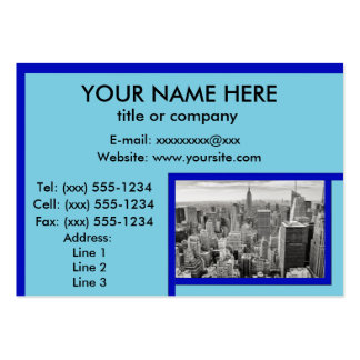GRINGOLANDIA! (New York cityscape / skyline) ~ Pack Of Chubby Business Cards