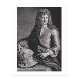 Grinling Gibbons (1648-1721) (litho) Postcard