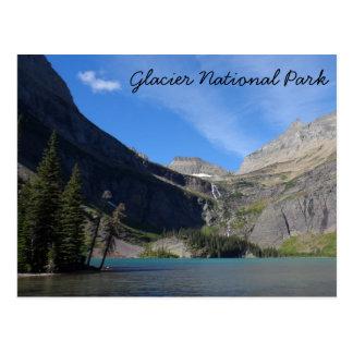 Grinnell Lake - Glacier National Park Postcard