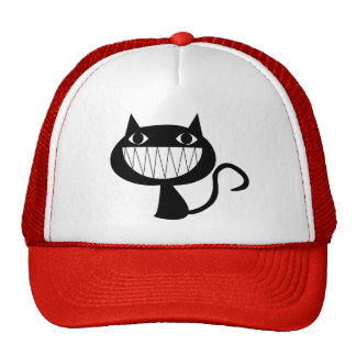 Grinning Cat Trucker Hat