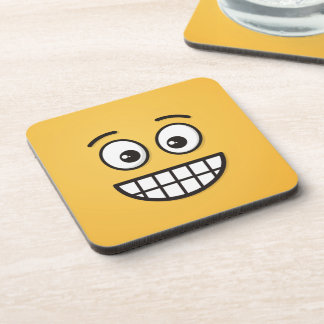 Grinning Face with Open Eyes Coaster