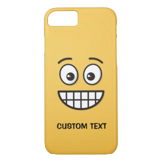 Grinning Face with Open Eyes iPhone 8/7 Case