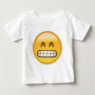 Grinning Face With Smiling Eyes Emoji Baby T-Shirt