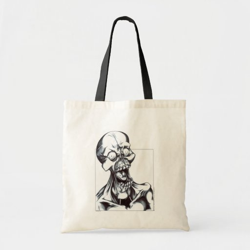 Grinning Ghoul Tote Bag