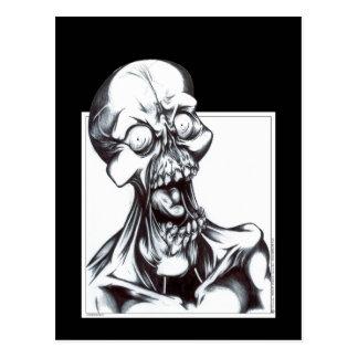 Grinning Ghoul Postcard