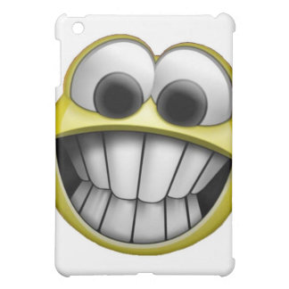 Grinning Happy Smiley Face iPad Mini Cover