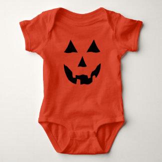 Grinning Jack o Lantern Baby Bodysuit