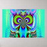 Grinning Owl Musketeer 3 Print